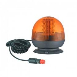 Faro rotativo magnetico con enchufe para mechero 24 w