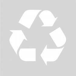 Plantilla para pintar signo reciclar (Punto Limpio)