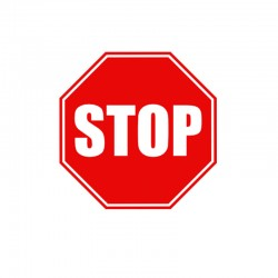 Señal para Educación Vial - STOP