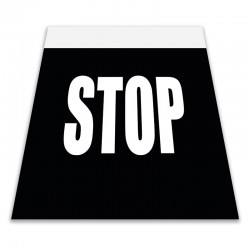 Alfombra marca vial STOP