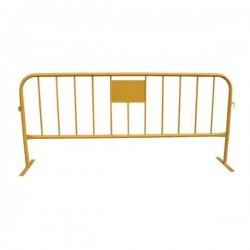 Valla contención hierro 230 x 110 cm