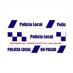 Cinta Balizamiento Policía Local 200 mts