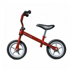 Bicicleta infantil sin pedales, ideal para circuitos de educación vial.