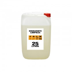Disolvente limpieza 25 litros