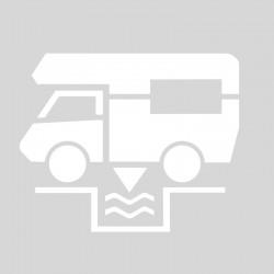 Plantilla rotulacion senal desagüe caravana