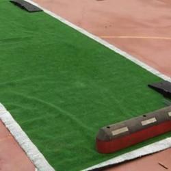 Tapiz césped artificial  verde