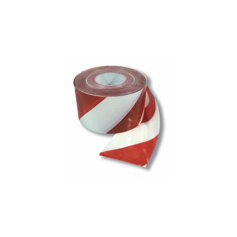 Cinta Balizamiento de 70 mm x 200 mts (Roja y blanca) STD