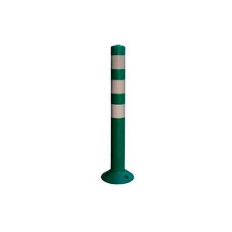 "Hito Bolardo ""Urbano"" 800mm x 80mm Flex Color -Verde"