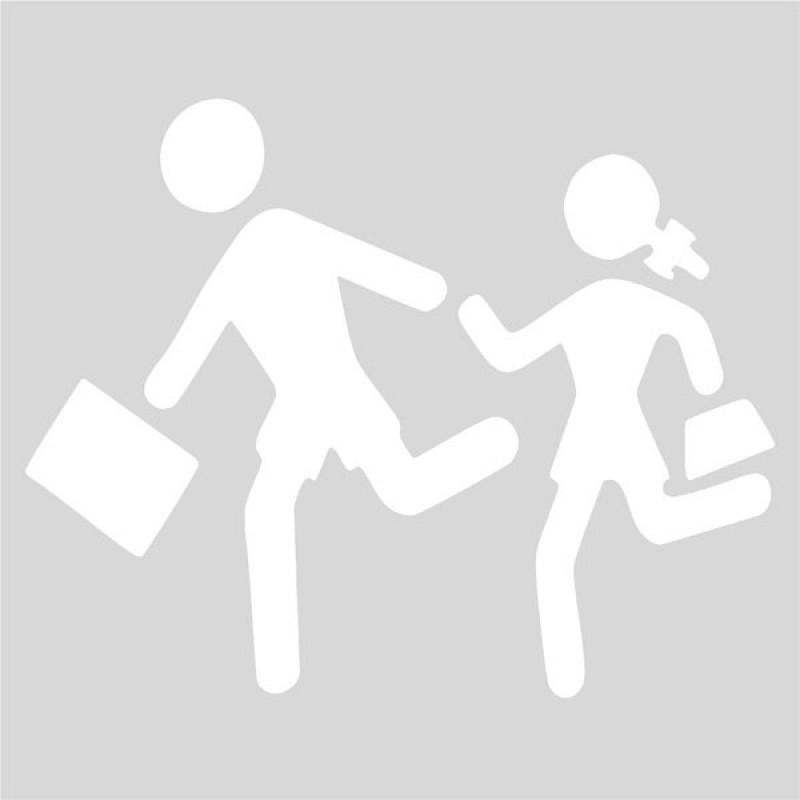Plantilla señalización escolar