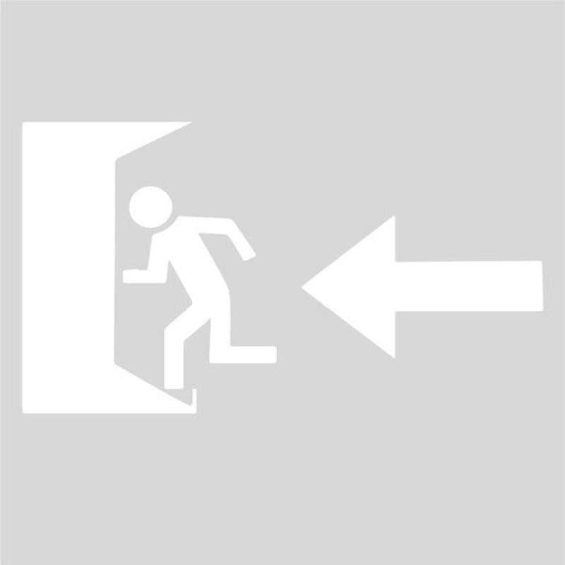 Plantilla salida de emergencia