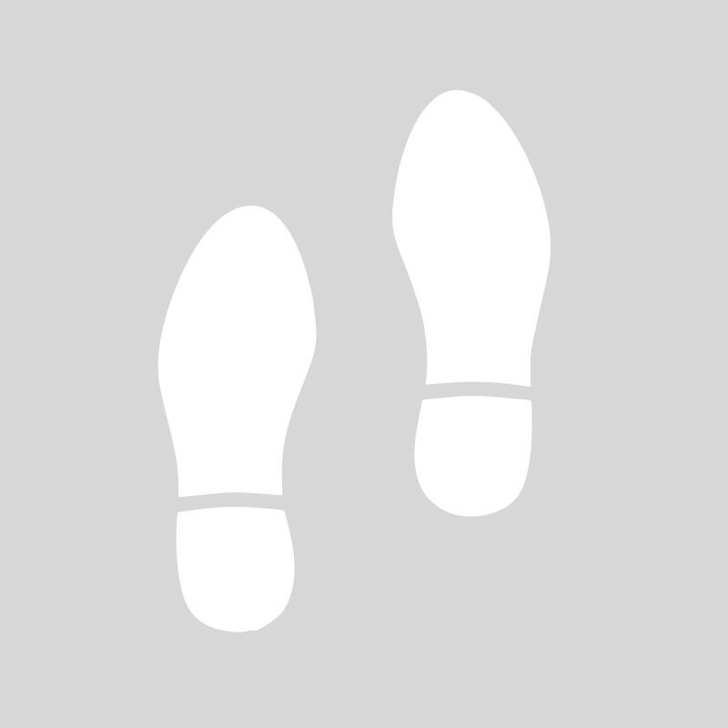 Plantilla huellas zapatos