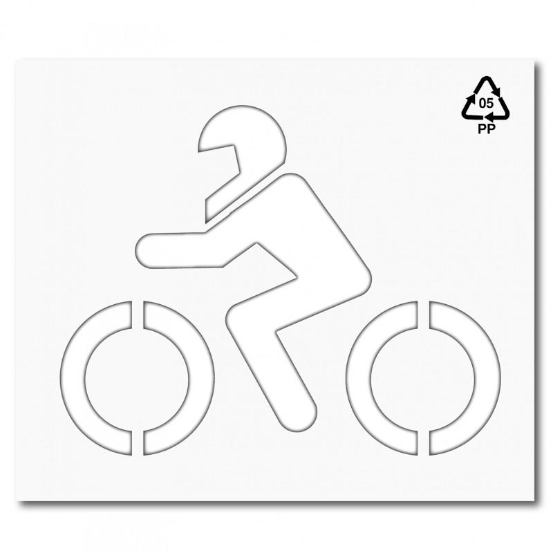 Señalización horizontal moto DGT