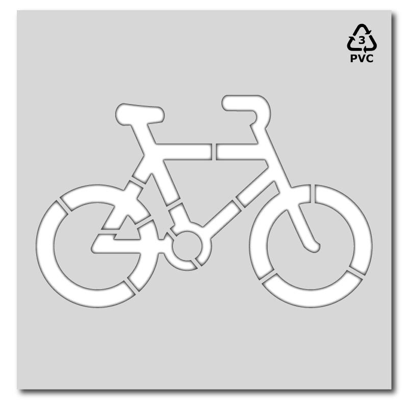 Plantilla señalización bici parking