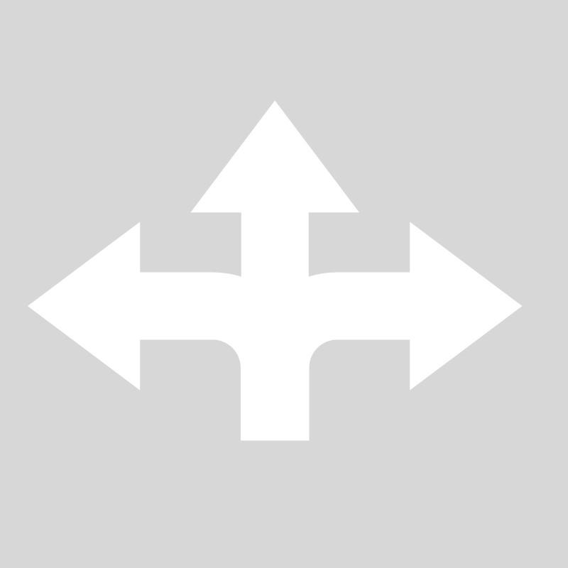 Plantilla pintar flecha cruce parking, carril bici, empresas