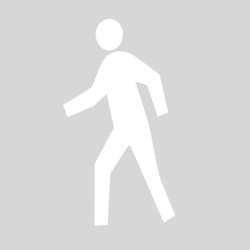 Plantilla señalización peatón