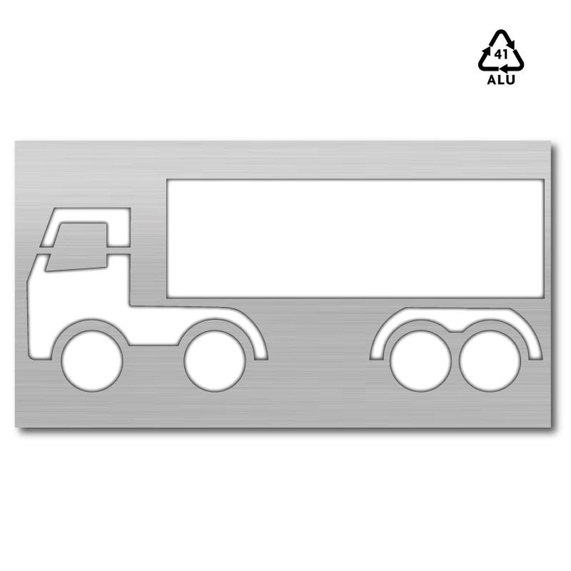 Plantilla para pintar y marcar simbolo autobus polipropileno, pvc ...