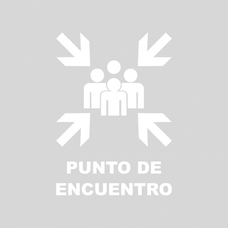 Plantilla pintar señal punto de encuentro (