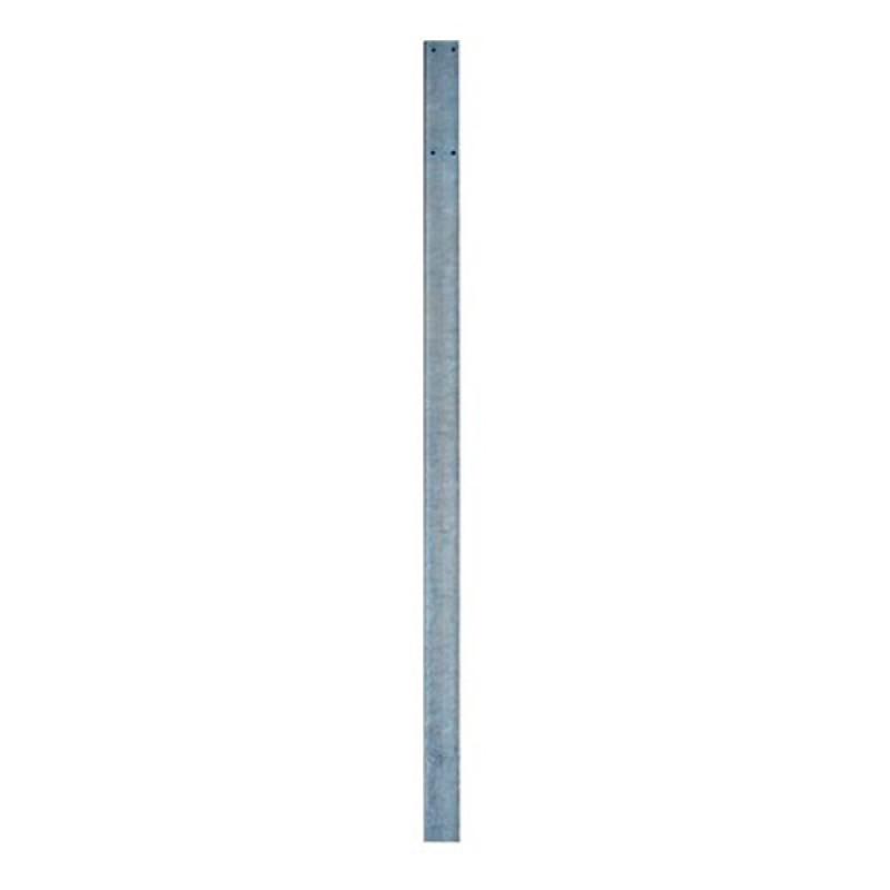 Poste rectangular 100 mm para señal de tráfico