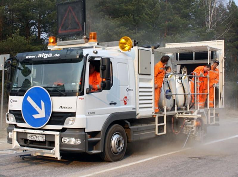 Camión de marcaje Hofmann
