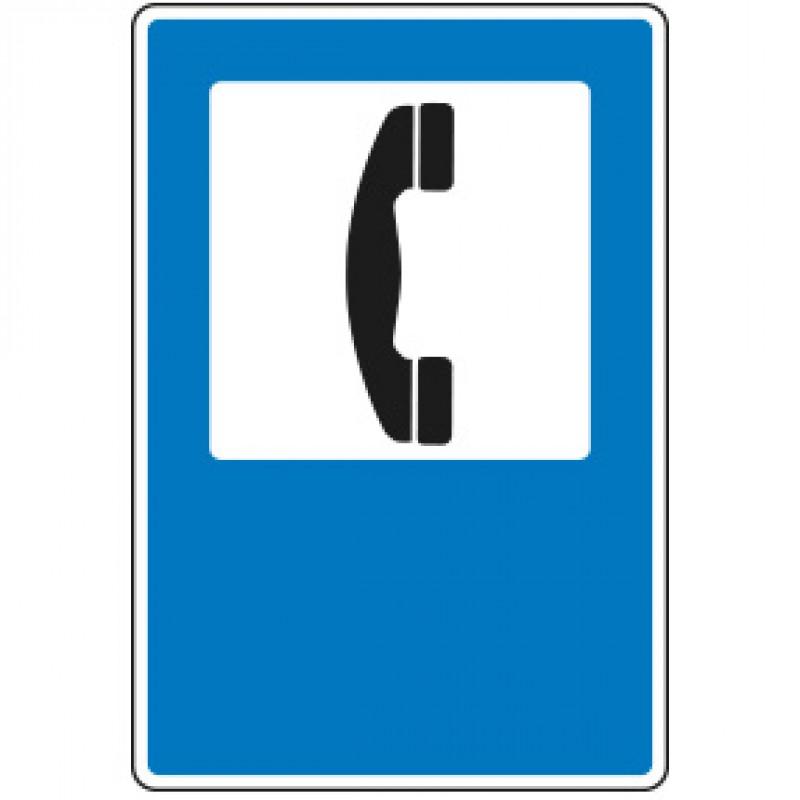 S-104 Teléfono - Acero galvanizado - 60 x 40 cm - Reflexivo I