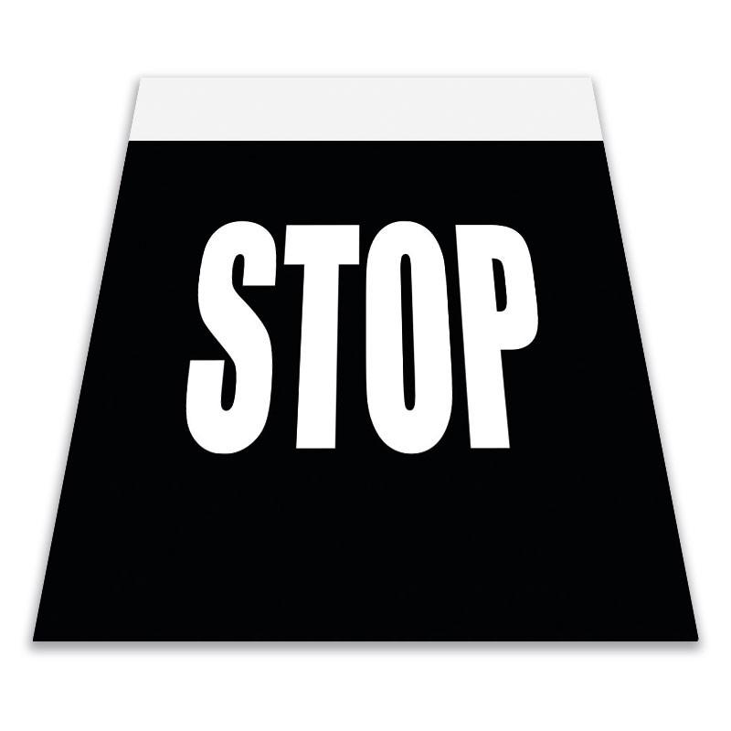 Alfombra marca vial STOP 100x150 cm