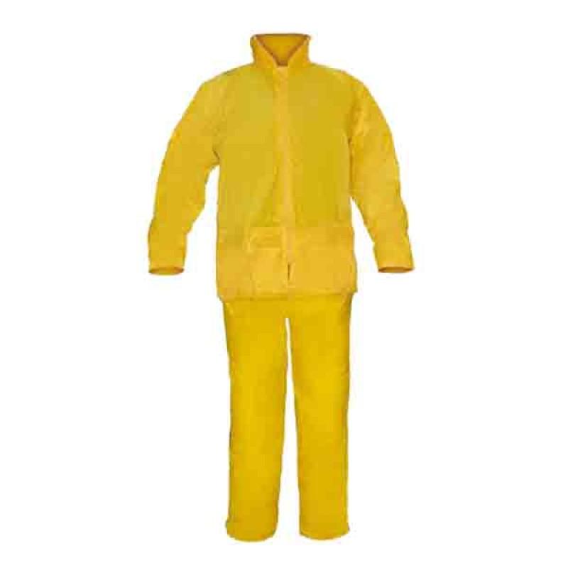 Traje Impermeable PVC/Poliester XL amarillo