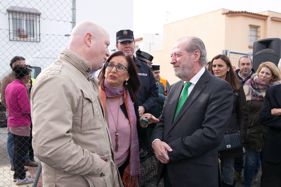 Juan Tirado, Director de Tecmapro con presidente  de Diputación de Sevilla