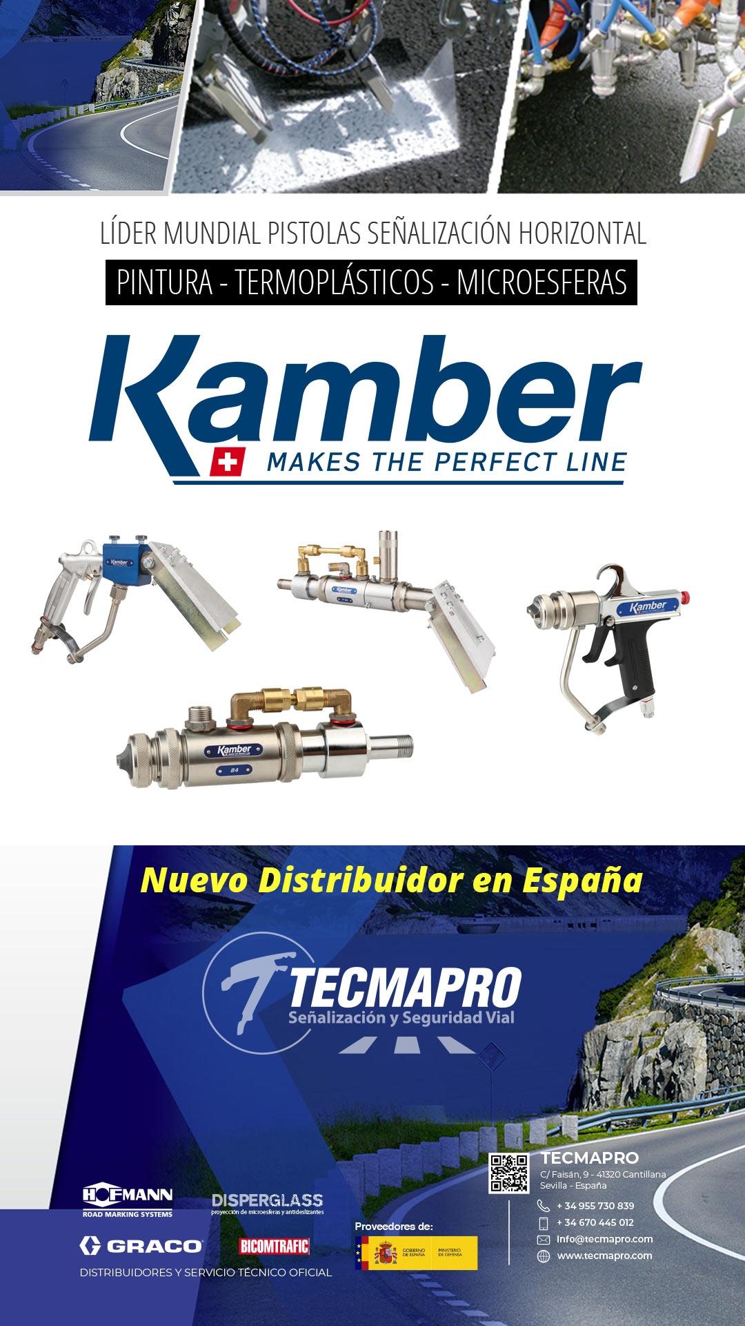 Distribuidor Kamber España