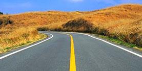 Pintura carretera y señalización