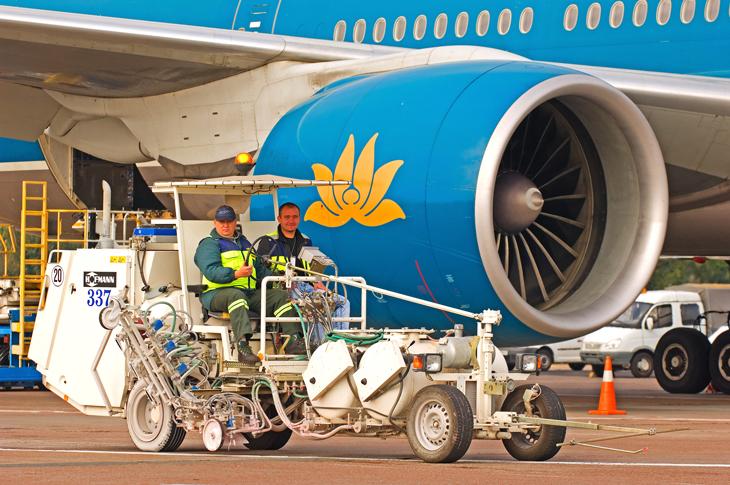 Máquinas señalización aeropuertos